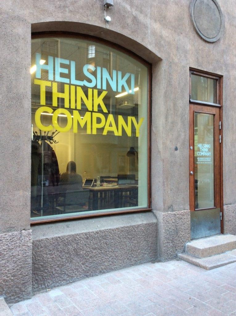 Helsinki Think Companylla pidettiin Uutisraivaaja-info maanantaina 3.10.