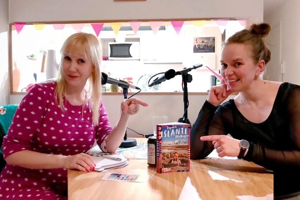 Tripsteri-Podcast-sarjan ekassa jaksossa Satu Rämö juttelee Islannista